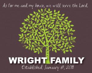 Family Tree 8x10