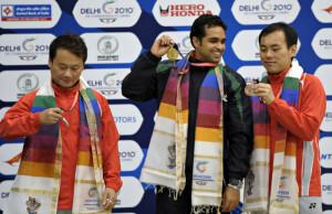 The duo of Gagan Narang and Imran Hasan Khan won gold medal in pairs ...