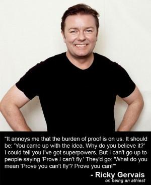 Right on Ricky! Atheist.