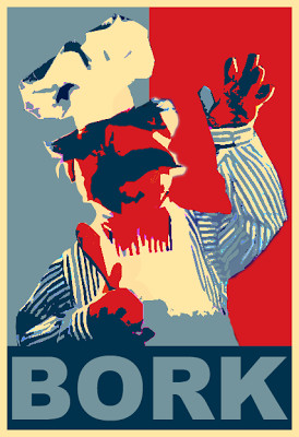 Debork Obama: Says the Swedish Chef,