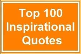 Top 100 Inspirational Quotes 1. Whatever the mind of man can conceive ...