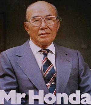 SOICHIRO HONDA, Pendiri Honda (Tokoh Teladan)