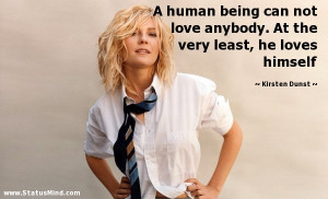 Kirsten Dunst Quotes at StatusMind.com