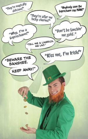St Patricks Day Leprechaun Quotes