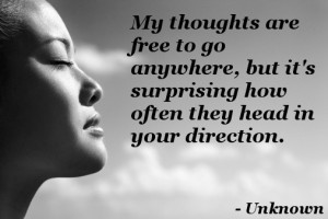 thinking of you quotes and sayings for him