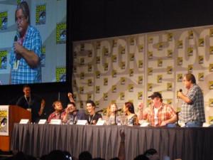 Matt Groening - Adventure Time - Comic-Con 2011 - Cartoon Network