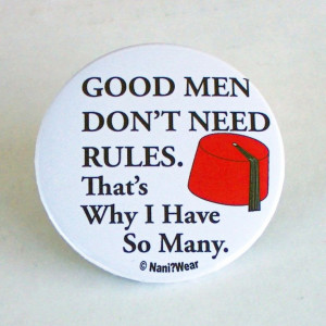 Doctor Who 11th Doctor Quotes 11th Doctor Who 2inch Button Good Men by ...