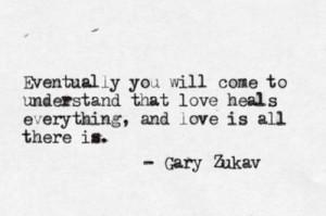 gary zukav quotes posted 1 year ago typewritten gary zukav quote 13 ...