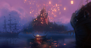Rapunzel Castle Concept Art From Disney Tangled HD Wallpaper
