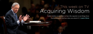 Dr Charles Stanley is an amazing Pastor, He takes it straight from the ...