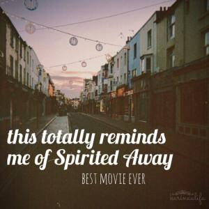 Spirited Away! Best Movie Ever!