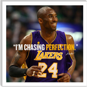kobe bryant quote canvas art print