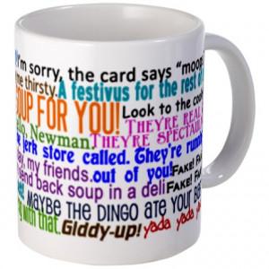 Seinfeld Quotes Mug