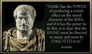 Education in music is most sovereign because more than anything else ...