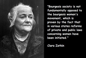 Clara zetkin famous quotes 2
