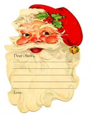 Free Christmas Printable (Dear Santa)Printables Dear, Dear Santa ...