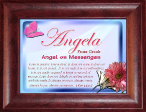 Angela Name Meaning