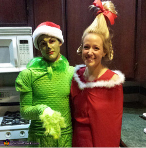 Cindy Lou Who and The Grinch. The Grinch and Cindy Lou Who - Homemade ...