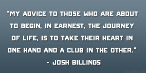 josh billings quote 21 awesome quotes to live by you should swear