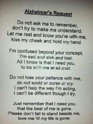 alzheimer's quotes | Alzheimer's