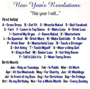determine your new year s resolution funny facebook quote