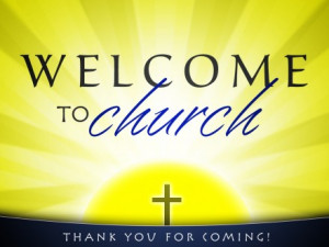 welcome for church