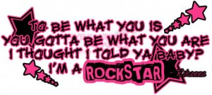 Rockstar 101 Rihanna Lyrics Quote Image