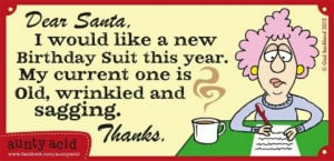 Dear Santa....