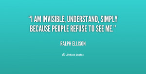 Am Invisible -i-am-invisible-understand