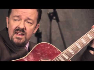 David Brent Quotes Series White