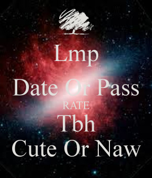 Date or pass pictures in Perth