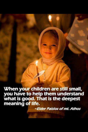 Orthodox Elder Paisios Wisdom quote