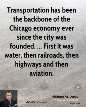 Transportation Has Been The Backbone Chicago Economy Ever Since