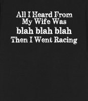 Funny Racing Shirt - A funny saying for married guys who love racing ...