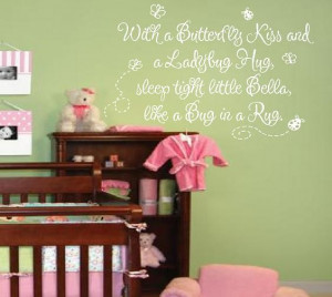 ... Baby Name - Girl Room Decor Quote Saying Poem 22hX36w INCHES BA0086