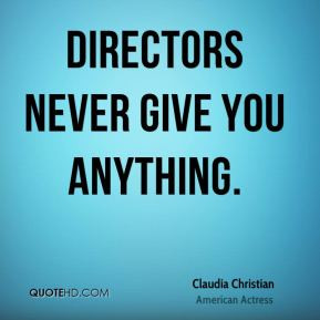 claudia christian claudia christian directors never give you jpg