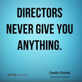claudia christian claudia christian directors never give you jpg