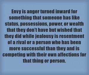 Jealousy amp Envy