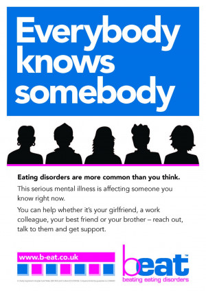 If you think someone YOU know is suffering from an Eating Disorder ...