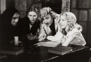 Marty Feldman, Cloris Leachman, Gene Wilder, Teri Garr in Young ...