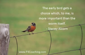 Bird Quotes Early