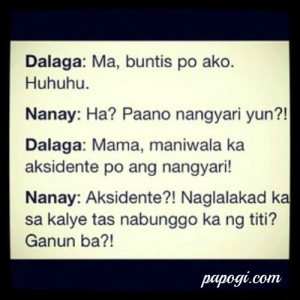 Best Tagalog Funny Quotes | Funny Green Jokes