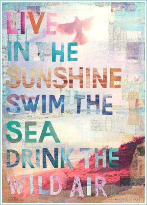 Saturday Beach Time Quote