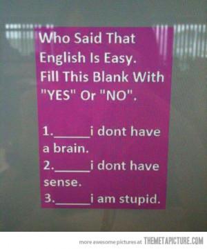 Funny photos funny confusing english language