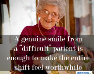 """genuine smile from a """"difficult"""" patient is enough to make the ..."""