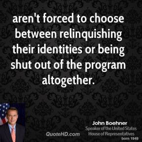 More John Boehner Quotes