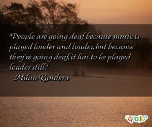 famous deaf people quotes the famous novelist