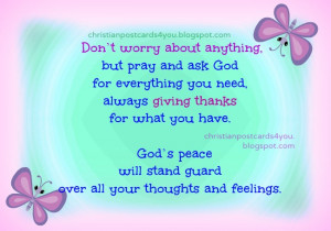 Don't Worry Bible Verse image. Scripture, free verses messages for ...