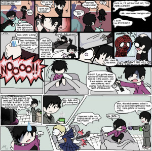MCR Comic - SpideyNightmare by Chocoreaper