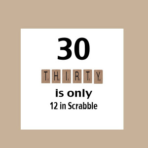30th Birthday Funny Quotes For Women 30th birthday card, funny